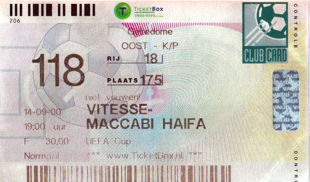 Vitesse – Maccabi Haifa 1ste ronde Europacup (3-0)