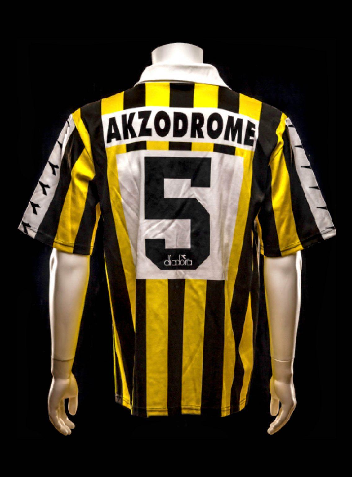 #5 Arjan Vermeulen Vitesse 1991-1993