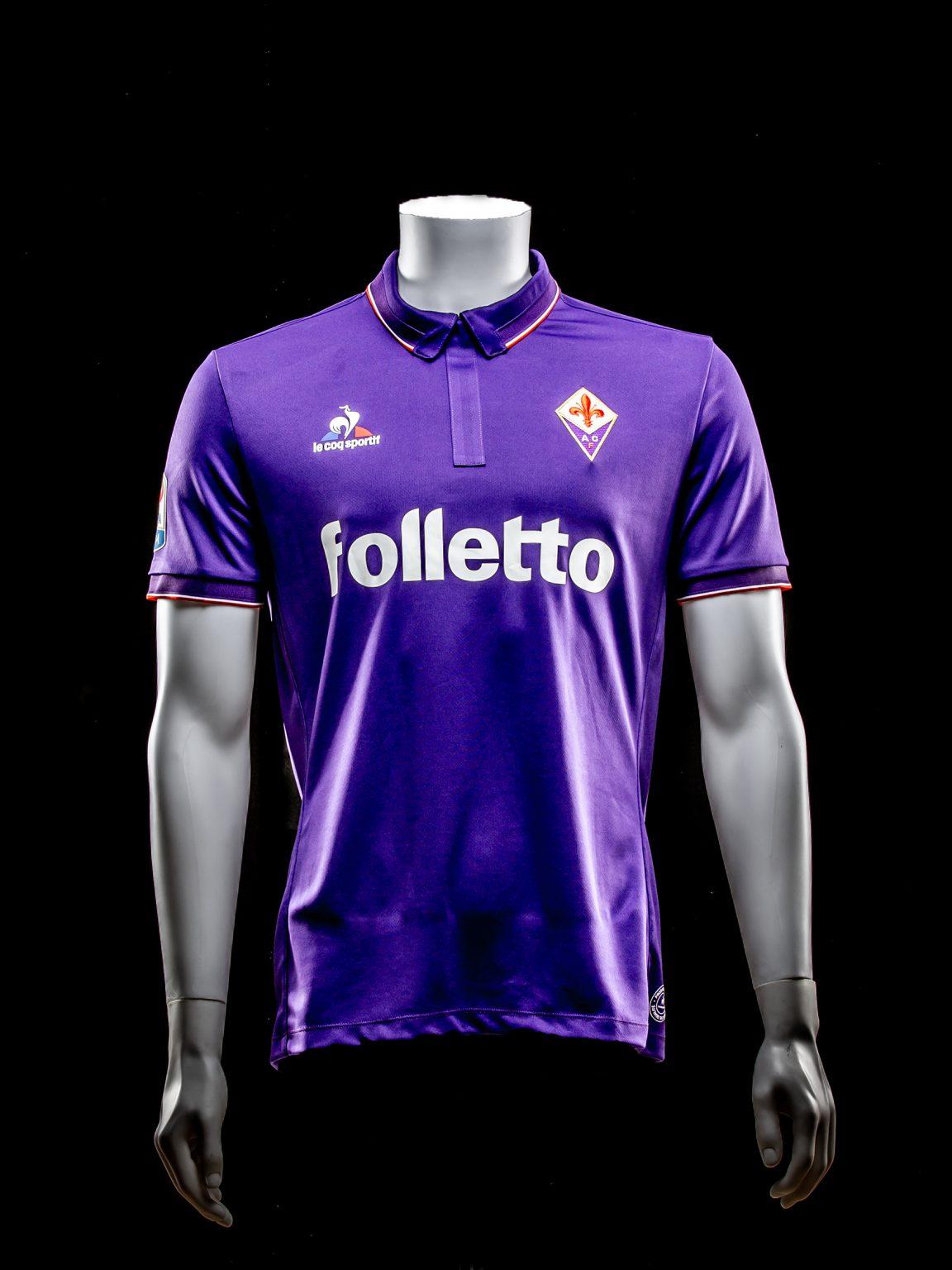 #17 Kevin Diks Debuut Shirt Fiorentina