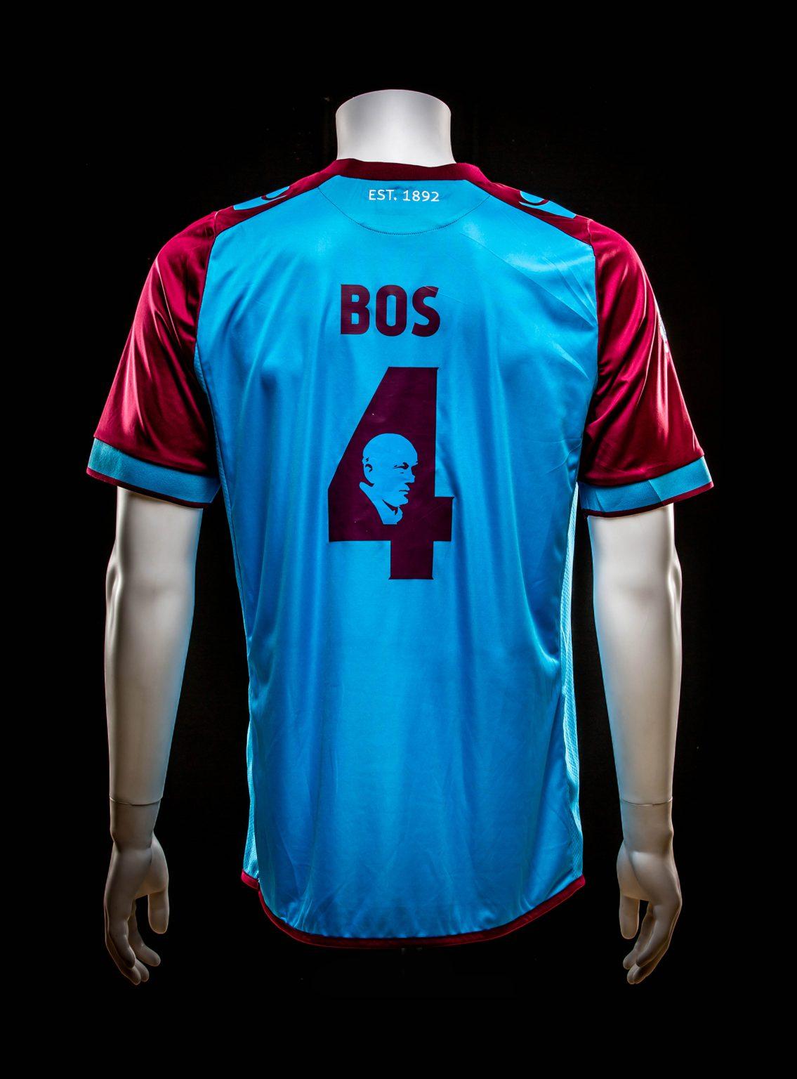 #4 Theo Bos Herdenkings Wedstrijd Spelershirt