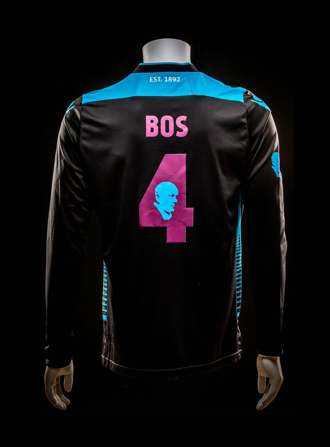 #4 Theo Bos Herdenkings Wedstrijd Keepersshirt