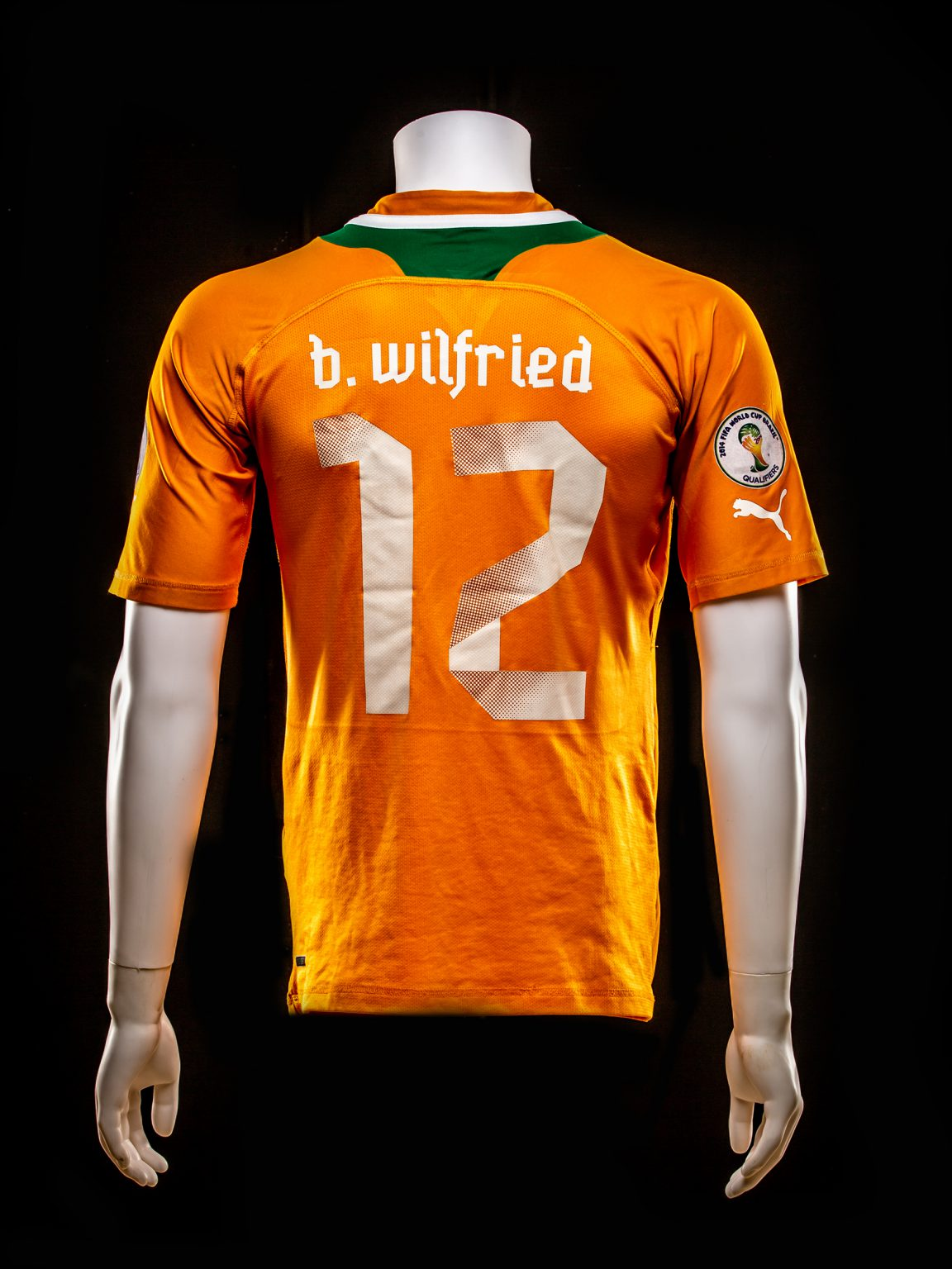 #12 Wilfried Bony Ivoorkust