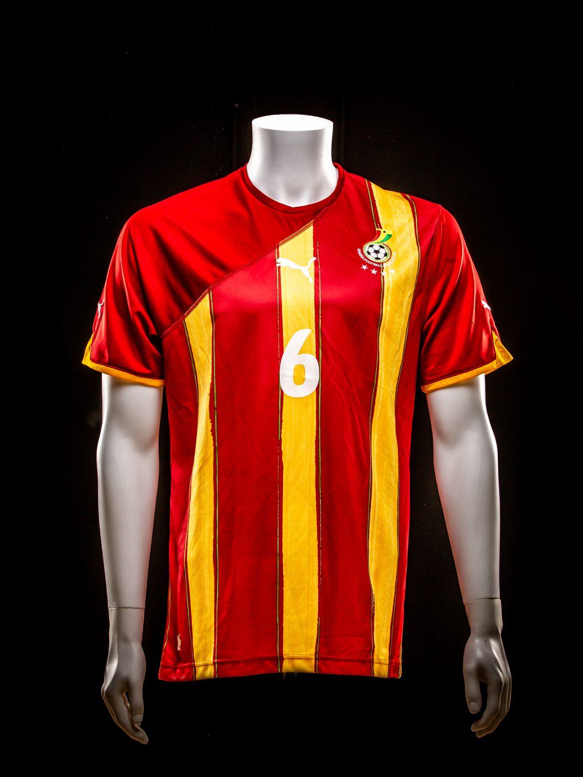 #6 Anthony Annan Ghana