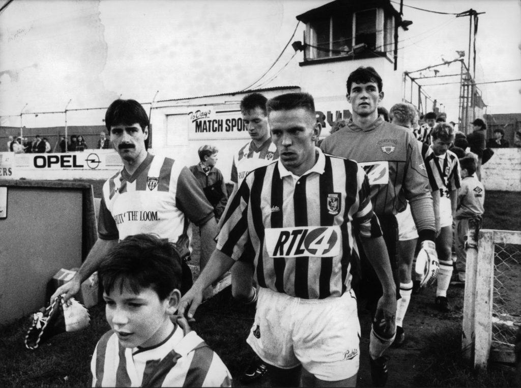 Derry Vitesse 1ste ronde UEFA Cup