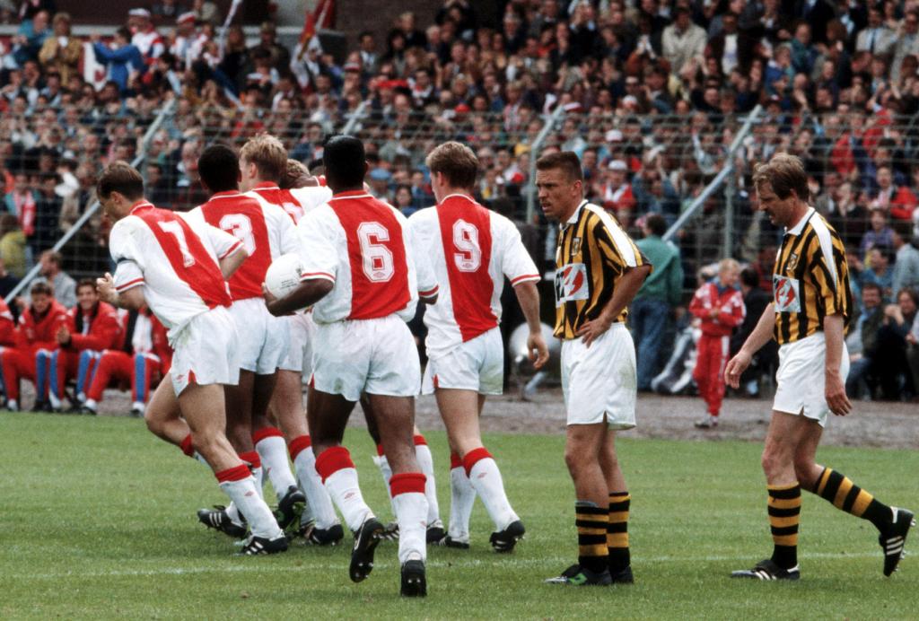 Vitesse Ajax Seizoen 1990-1991
