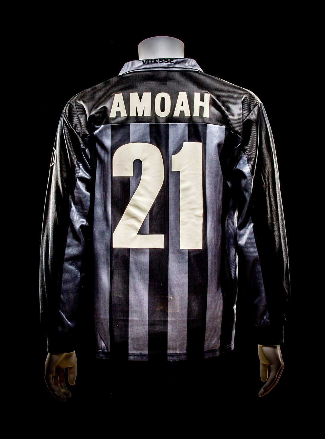 #21 Matthew Amoah 2001-2002