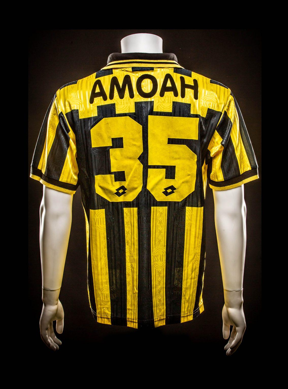 #35 Matthew Amoah 1997-1999