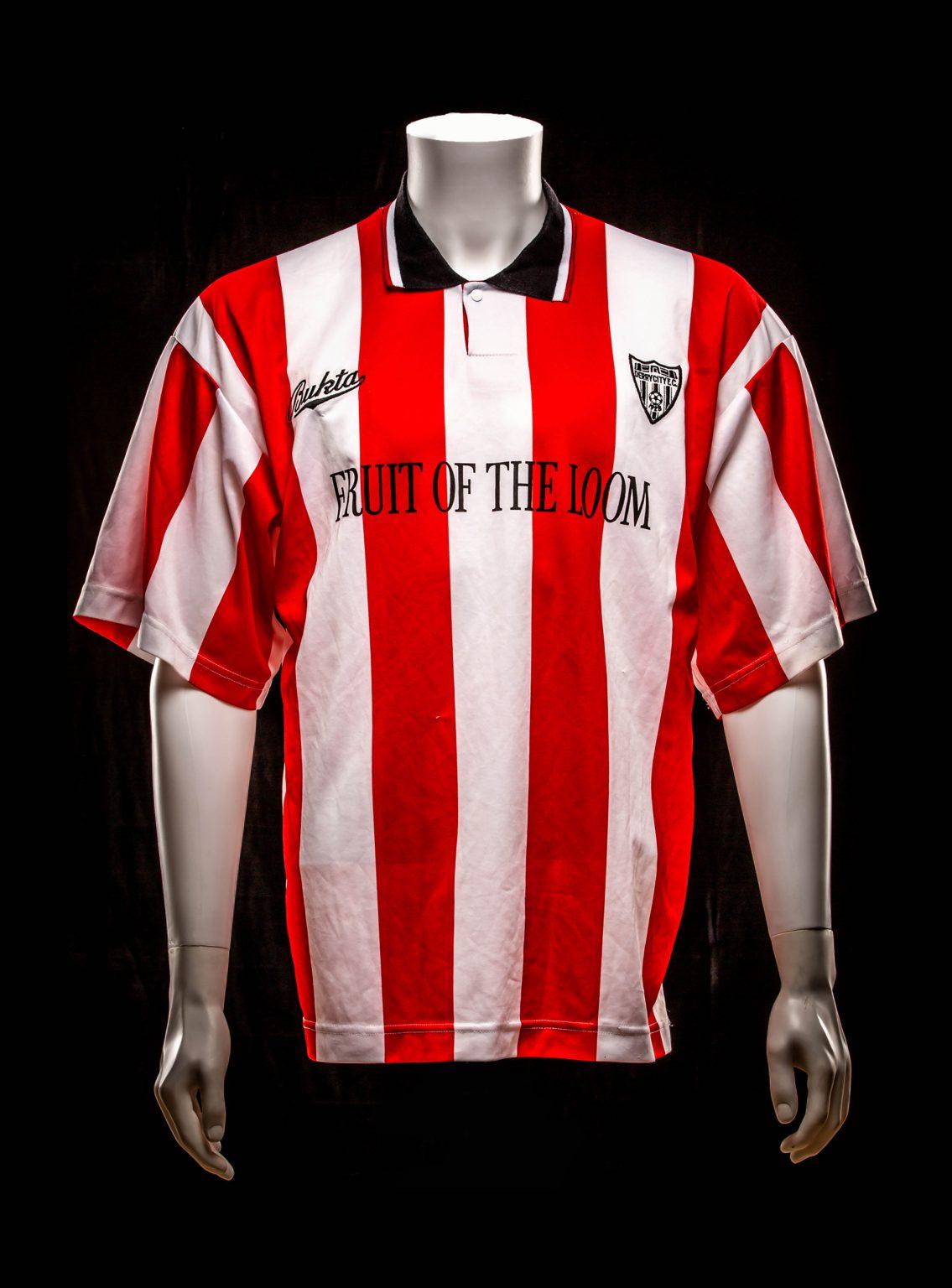 Derry City Shirt UEFA Cup 1992-1993